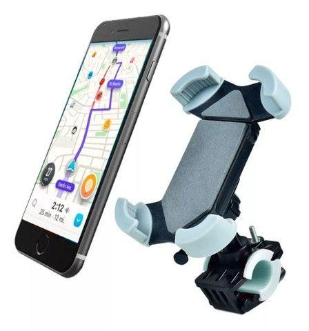 Suporte de Celular SmartPhone Gps Para Moto e Bicicleta Exbom SP-C86