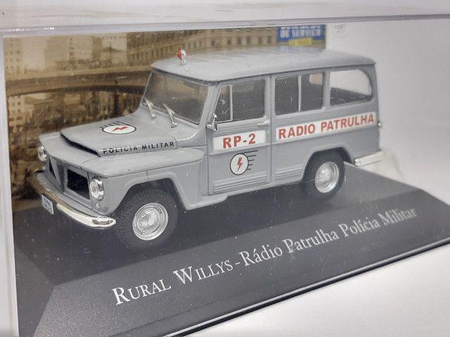 Miniatura rural Willys rádio patrulha - Foto 2