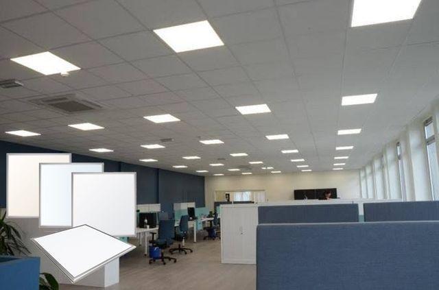 Painéis LED 625x625mm 48w Forro modular ou Gesso - Foto 3