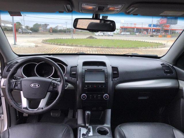 Kia Sorento EX2 4x4 V6 278cv 2012 top de linha - Foto 3