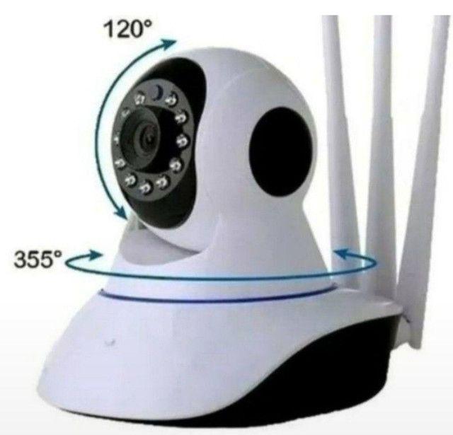 Câmera de segurança via Wi-Fi ime HD visão noturna garantia - Foto 3