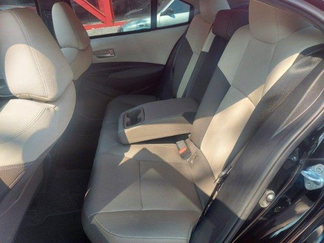 469. Corolla Altis Premium 1.8 Hybrid 2021 - 4.000 km - Blindado com Teto Solar - Foto 11
