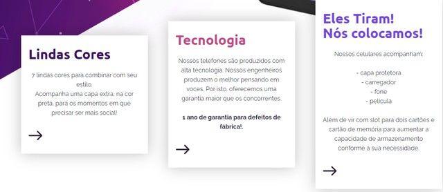 Celular Smartphone Fly X-Fone (Lindo e Barato) - Foto 2