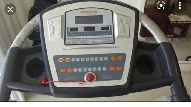 Vendo esteira elétrica Athletic advanced 990t - Foto 3