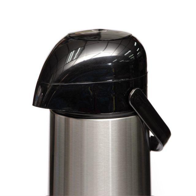 Garrafa Térmica Inox Lúmina 1.8l Bomba De Pressão Termolar - Foto 4