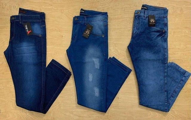 Calça jeans masculinaaa (36 ao 46) entrega gratuita para toda João pessoa - Foto 2