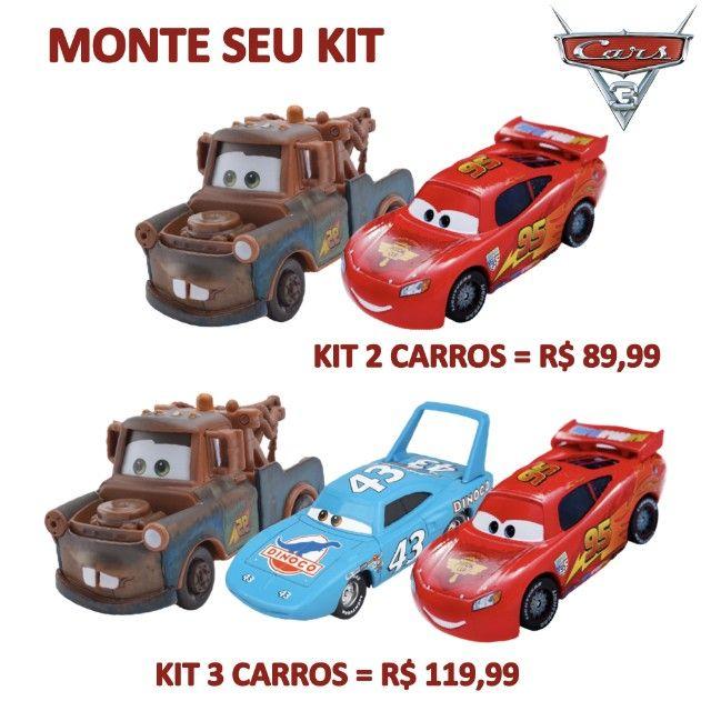 Mater Filme Carros Disney Miniatura 1:55 - Foto 5