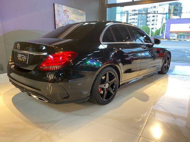 Mercedes C250 Sport, 2015, interior vermelho, blindada nível 3A, configuração Linda  - Foto 18