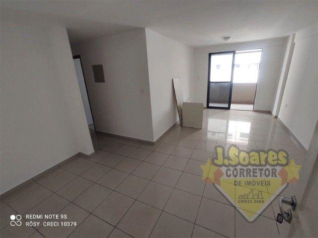 Manaíra, 3 suítes, 85m², R$ 1.900 C/Cond, Aluguel, Apartamento, João Pessoa - Foto 3