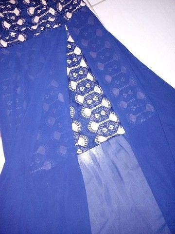 Vestido azul marinho - Foto 4