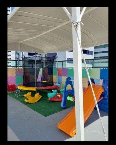 MD I Apartamento 2 Quartos 61m² com Varanda I Boa Viagem. Edf. Átria I Porteira Fechada - Foto 14