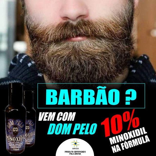 Tônico Capilar Dom Pelo Cresce Barba 120ml Capilar Forte - Foto 4