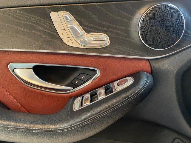 Mercedes C250 Sport, 2015, interior vermelho, blindada nível 3A, configuração Linda  - Foto 16