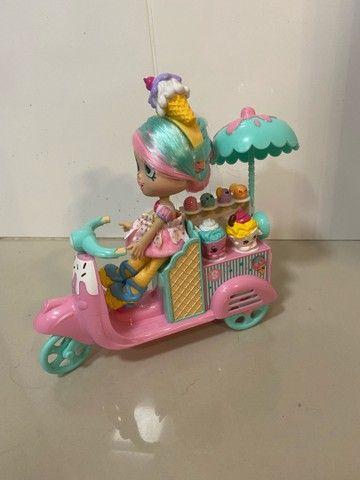 Shopkins Festa no Parque de Diversões + Moto com boneca - Foto 3
