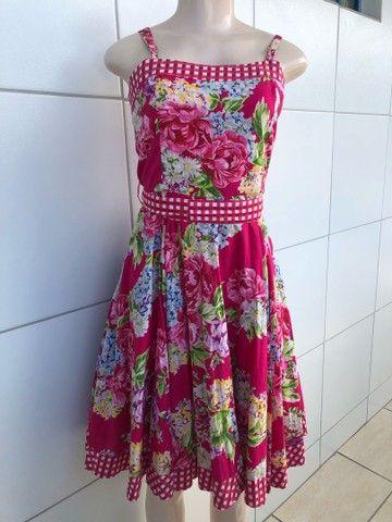 Vestido Junino Tamanho M