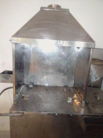 Troco carrinho de churrasco com compartimento de refrigerante.por computador completo - Foto 4