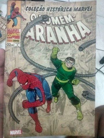 Coleção histórica do Homem-Aranha Volumes 1,2 e 3 - Foto 2