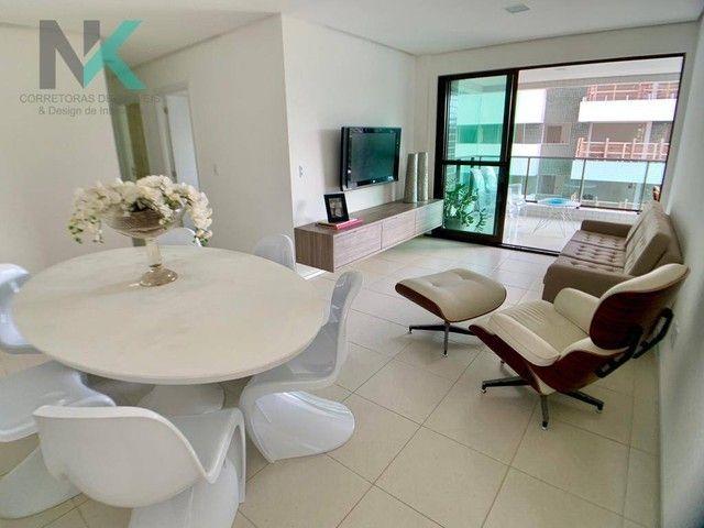 Apartamento com 3 dormitórios à venda, 114 m² por R$ 811.023,29 - Guaxuma - Maceió/AL - Foto 7