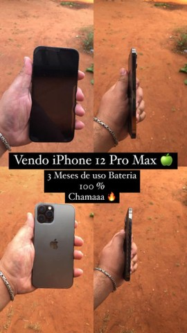 iPhone 12 Pro Max 128 Gb apenas 3 meses de uso