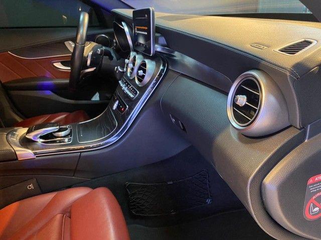 Mercedes C250 Sport, 2015, interior vermelho, blindada nível 3A, configuração Linda  - Foto 10