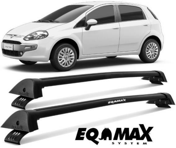 Bagageiro Rack Teto Eqmax New Wave Diversos Carros (Aceito Cartões) - Foto 6