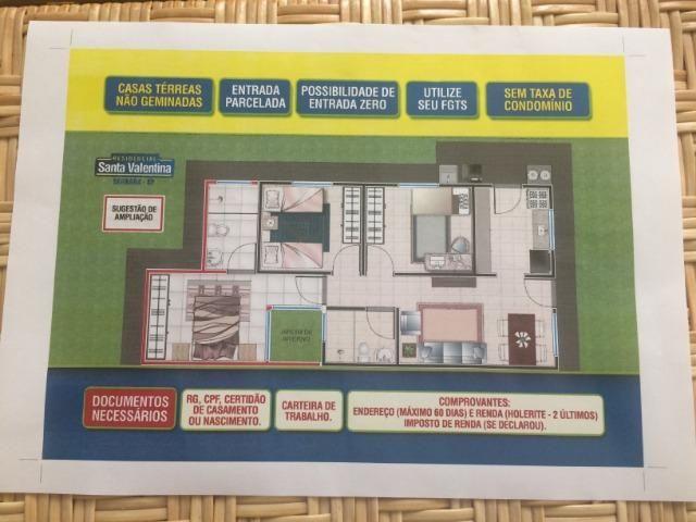 Serrana-SP - Lançamento de Casas Térreas. A partir de R$ 118.000,00, 2 quartos - Foto 13