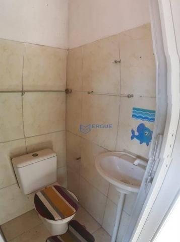 Casa com 2 dormitórios para alugar e vender, 60 m² por r$ 450,00/mês - dias macedo - forta - Foto 8