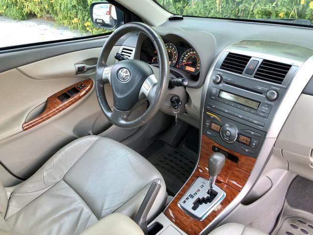 Toyota Corolla SEG BLINDADO 2009 EXTRA!!! - Foto 7