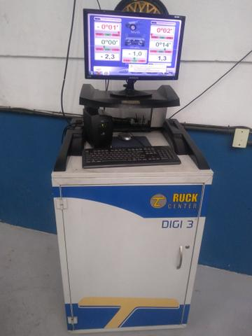 Vendo alinhador truck center digi 3