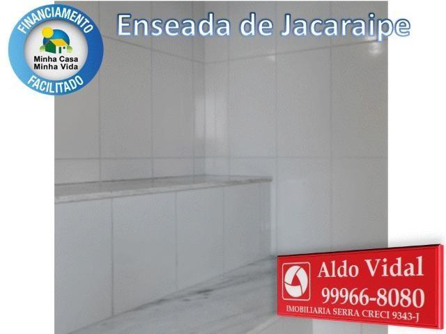 ARV34- Apê Novo em Jacaraipe, 2 quartos com suíte e varanda - Foto 2