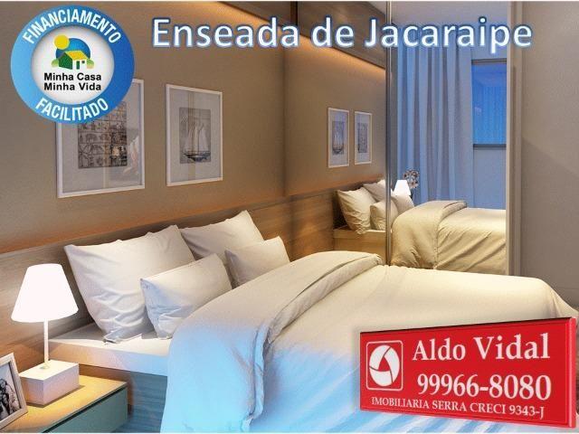 ARV34- Apê Novo em Jacaraipe, 2 quartos com suíte e varanda - Foto 11