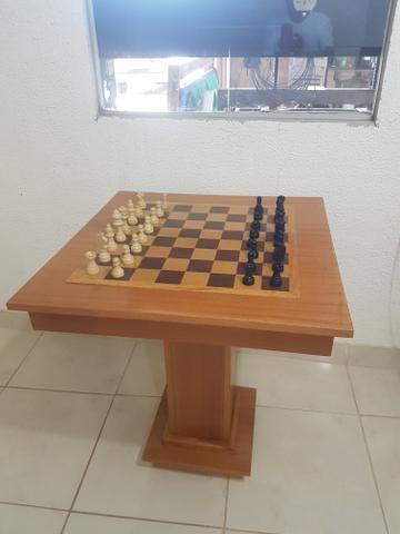 Mesa de xadrez de otima qualidade - Foto 3