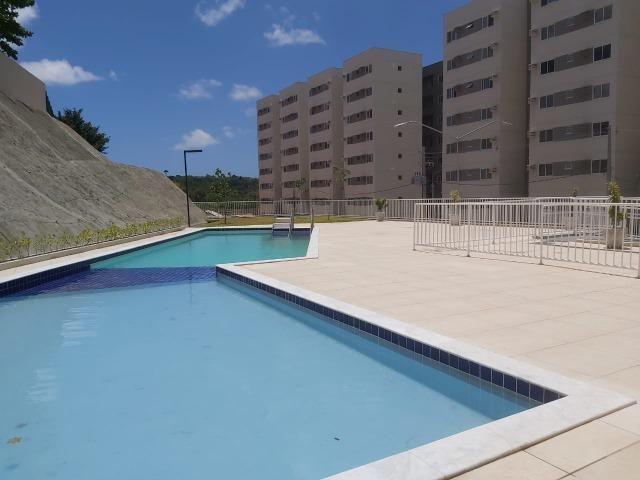 Alugo 2 quartos com suite e varanda, lazer completo, Jardins do frio em paulista - Foto 9