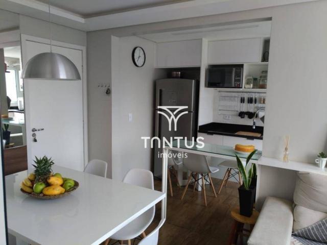 Apartamento com 2 dormitórios à venda, 50 m² por r$ 240.000 - pinheirinho - curitiba/pr - Foto 6