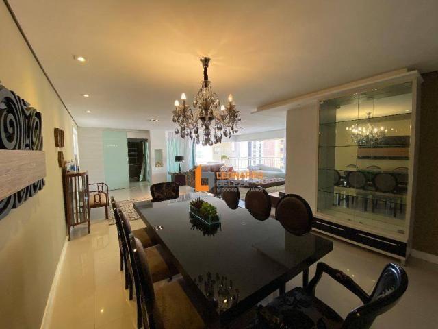 Apartamento Alto Padrão, Luxo à venda, 350 m² por R$ 3.990.000,00 - Meireles - Fortaleza/C - Foto 8