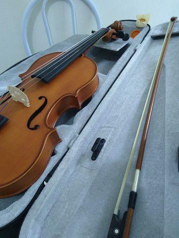 Violino Allegro T1500 Tagima - Nunca Usado - Foto 6