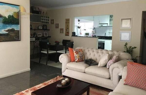 Apartamento com 3 dormitórios à venda, 120 m² por R$ 490. - Bosque da Saúde - Cuiabá/MT