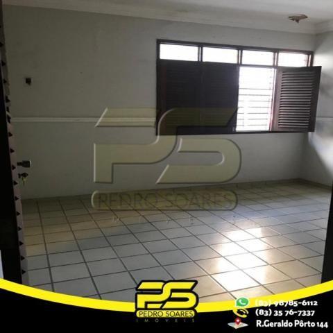 Casa com 4 dormitórios para alugar por R$ 7.000,00/mês - Tambaú - João Pessoa/PB - Foto 14