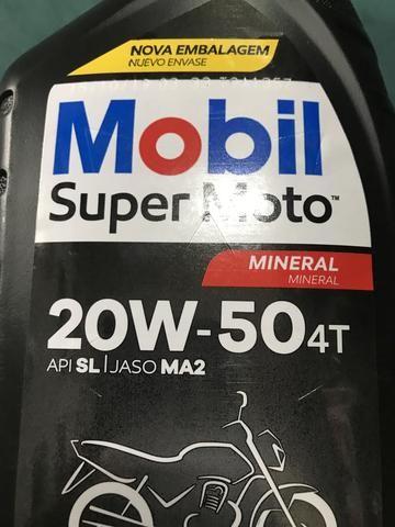 Oleo mobil 20w50 R$ 20,90 (Entrega Grátis) - Foto 3