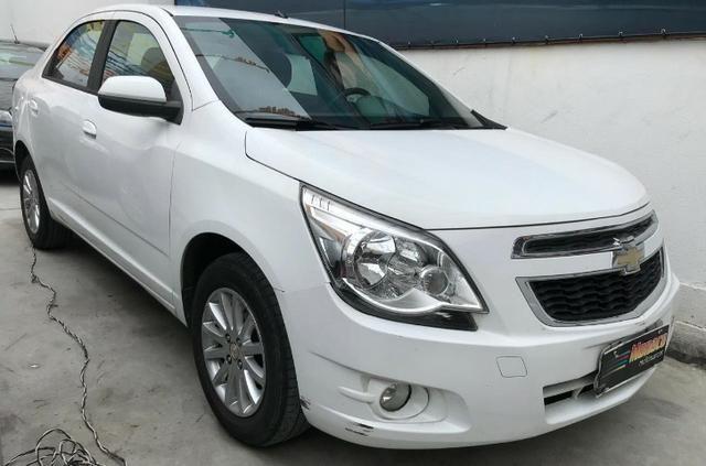 Chevrolet Cobalt ltz 1.4 completo c/ multimídia _ peq entrada + 48x 669,99 fixas