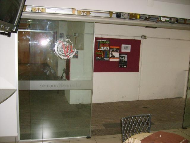 Kit porta automatica vidro sensor