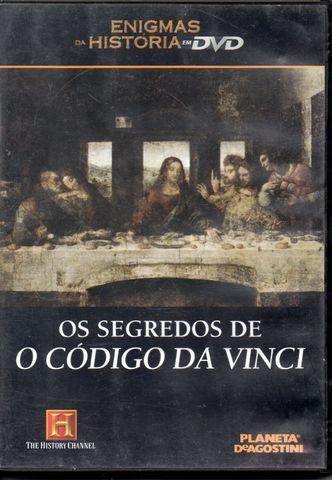 Dvd - Os Segredos De O Código Da Vinci
