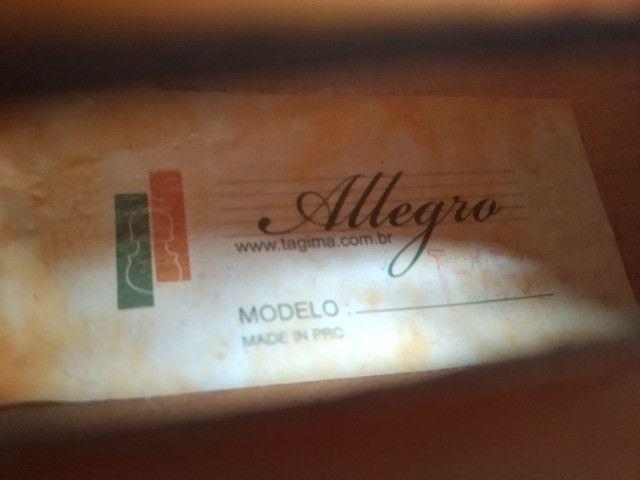 Violino Allegro T1500 Tagima - Nunca Usado - Foto 3