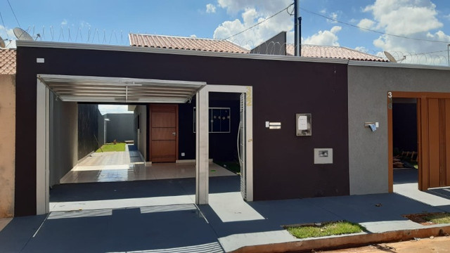 Linda Casa Jardim Aero Rancho - Foto 8