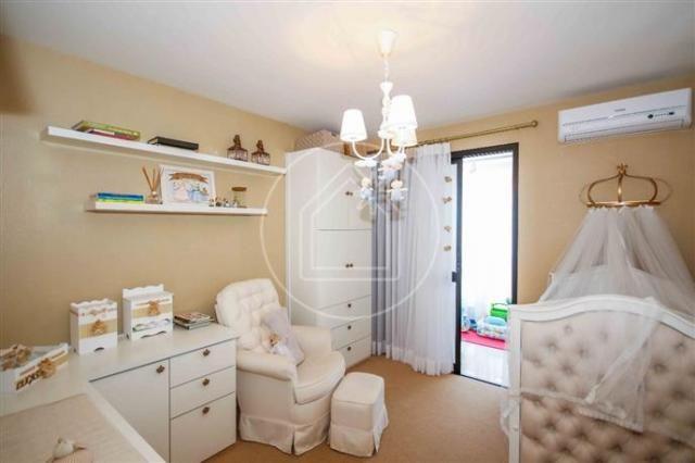 Apartamento à venda com 3 dormitórios em Barra da tijuca, Rio de janeiro cod:828684 - Foto 9