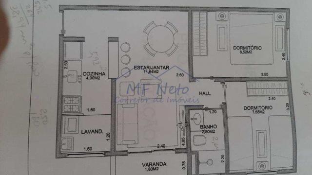 Apartamento à venda com 2 dormitórios em Vila pinheiro, Pirassununga cod:10131813 - Foto 19