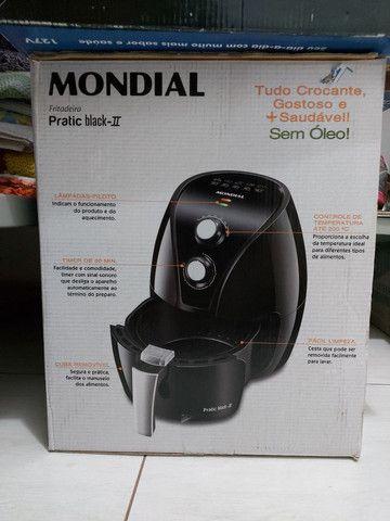 Fritadeira Mondial Black 2 - Foto 2