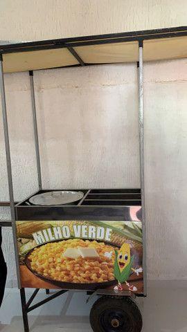 Carrinho de milho Entregamos litoral consulte frete