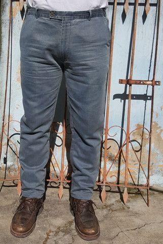 Calça Ermenegildo Zegna Linho Fabricada na Itália - Foto 3