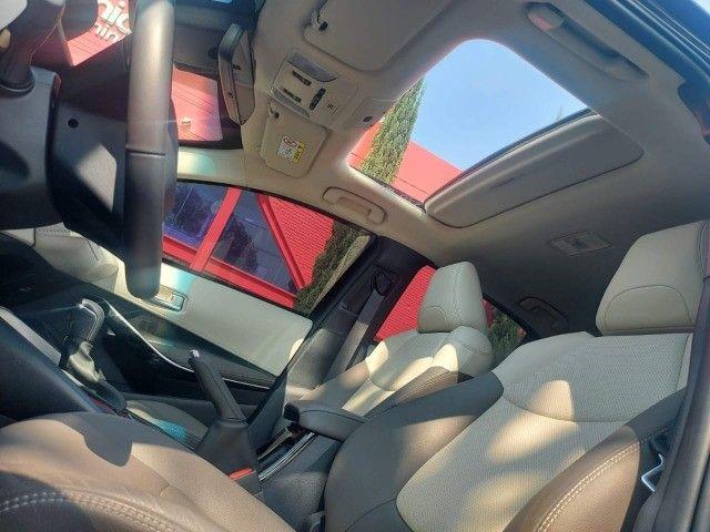 469. Corolla Altis Premium 1.8 Hybrid 2021 - 4.000 km - Blindado com Teto Solar - Foto 16